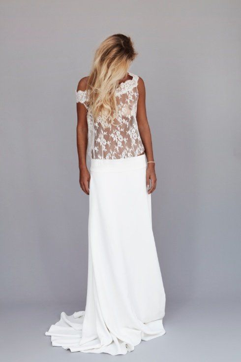 Idée robe  inspiration Robes de mariée  Pinterest