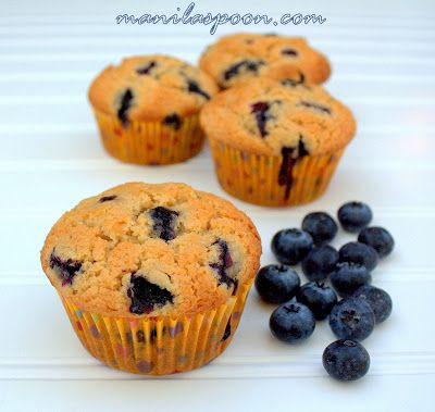 Manila Spoon: Blueberry Muffins | Recipes - Breads/Rolls/Rice/Grains ...