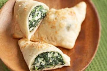 Spinach Artichoke Calzone | Yum Yum :) | Pinterest