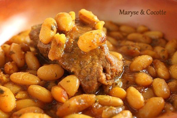 Chaise Cuisine Noyer : Ragoût de Haricots Blancs  Diner  Pinterest
