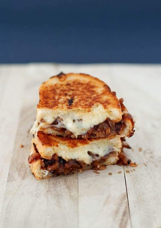 French Onion Grilled Cheese | Iron Chef | Pinterest