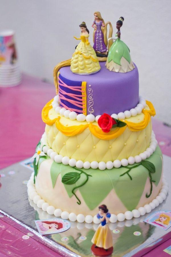Cake Images Princess : 3 Tier Princess Cake Cakes: Disney Princesses Pinterest