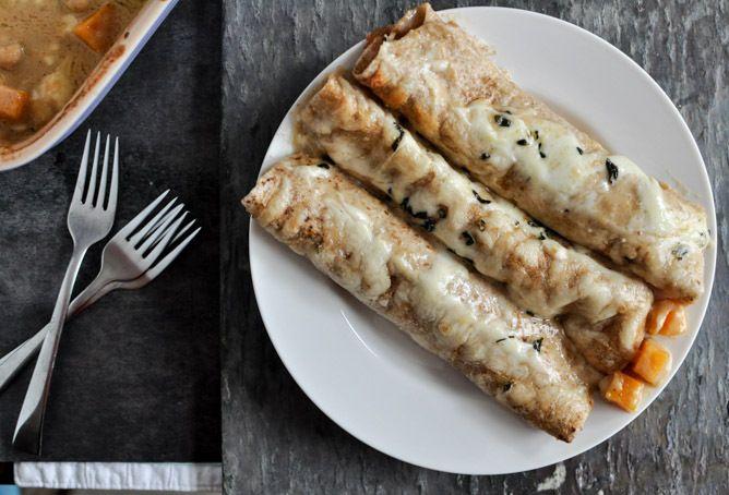 Butternut Squash Enchiladas Recipe by How Sweet It Is