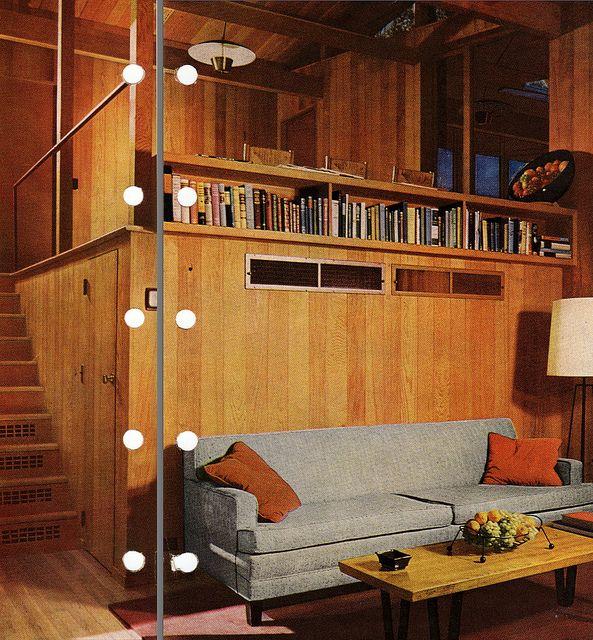 Mid Century Modern Split Level Insides Pinterest