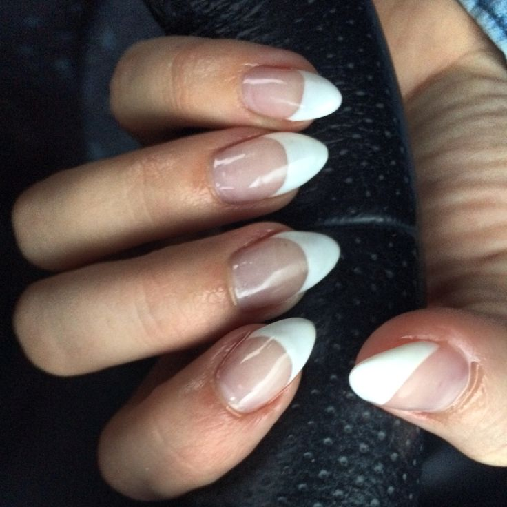 Stiletto nails / claws / pointy / French | Lisa my nail ...