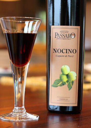 Simple recipe for Nocino (walnut liqueur). Had this for the first time ...