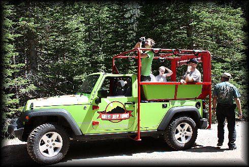 Green Jeep Tours Estes Park Co
