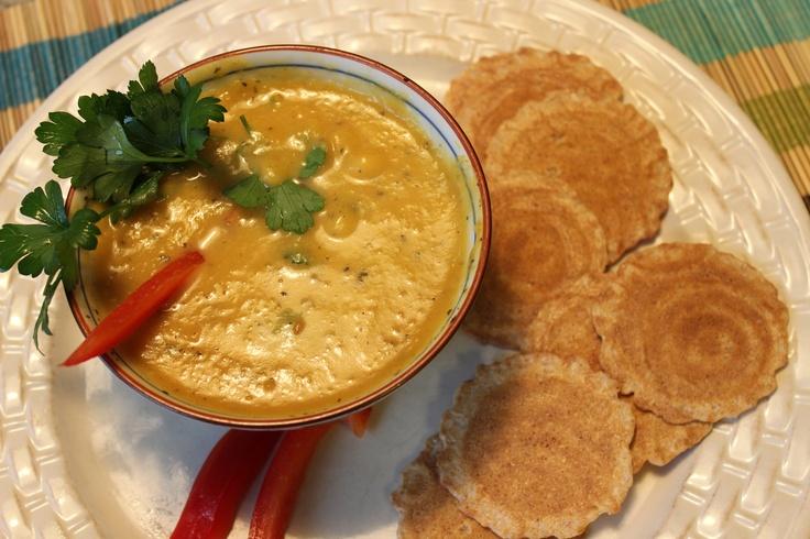 Spicy Pumpkin Soup | Food Huntress | Pinterest