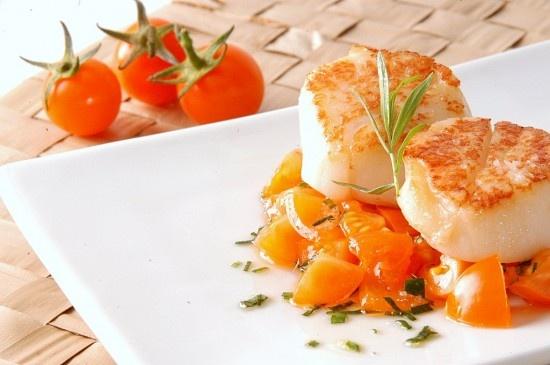 Seared Scallops With Tarragon-Butter Sauce Recipes — Dishmaps