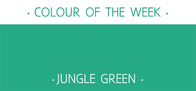 ... : Colour of the week - Jungle Green http://rosiesimons.blogspot.co.uk
