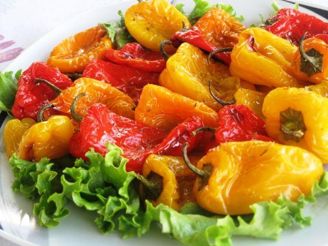 Roasted Mini Sweet Peppers – Recipe | Recipes - Veggies/Vegetarian ...