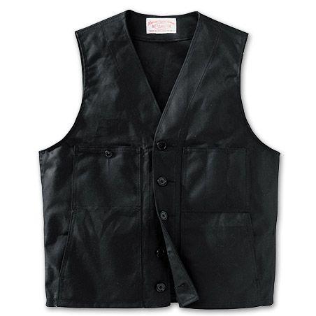 oil tin cloth vest the new goods. Black Bedroom Furniture Sets. Home Design Ideas