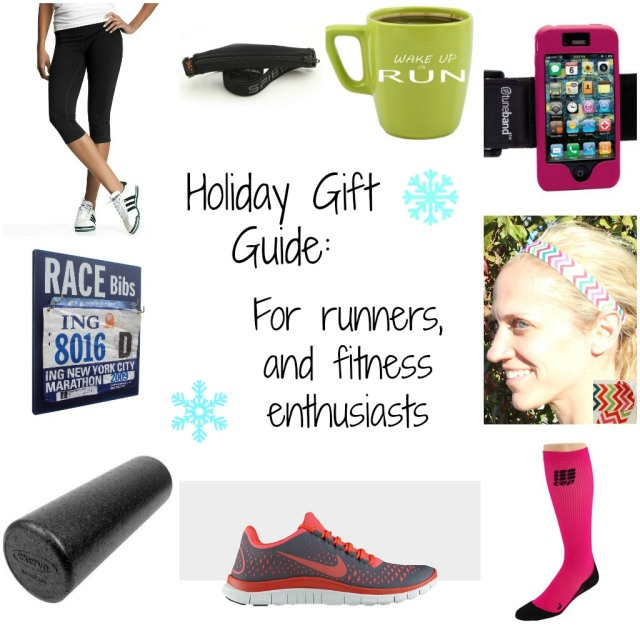 Holiday Gift Guide: For runners