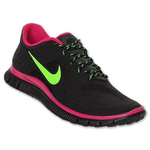 Nike Free 4.0 V2 Women's Running Shoes | FinishLine.com | Black