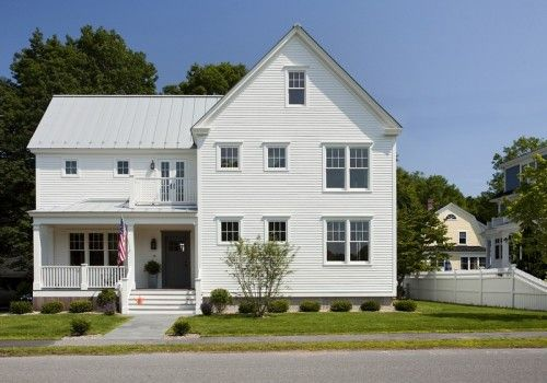 Best White House Metal Roof Love He That Has A House To 400 x 300