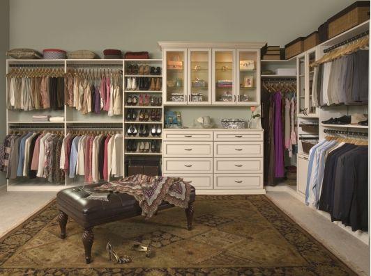 Beautiful walk in closet home stuff pinterest for Beautiful walk in closets