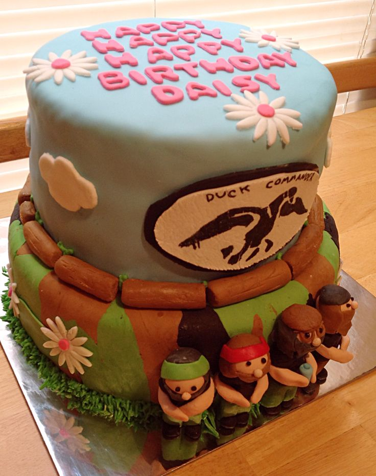 Duck dynasty cake for girls