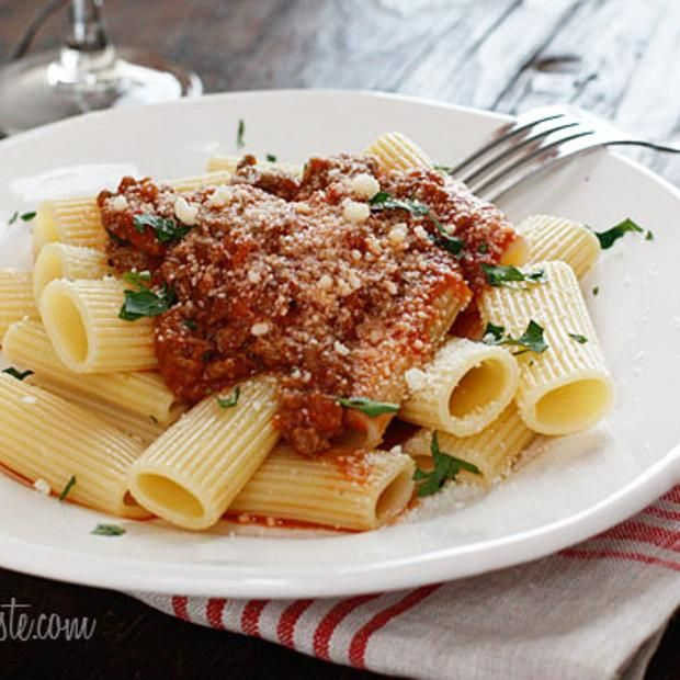 Crock Pot Bolognese Sauce | Food and Drink | Pinterest