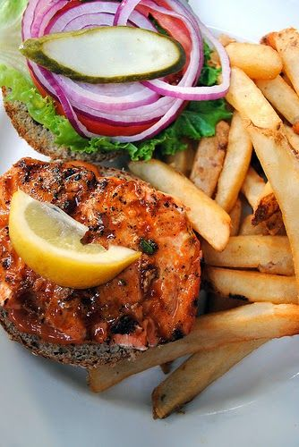Easy Grilled Salmon Sliders | CASUAL PARTY FOOD | Pinterest