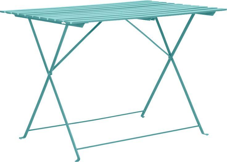 Table De Jardin Resine Leclerc : PARC table de jardin pliante  Habitat  Claudia  Pinterest