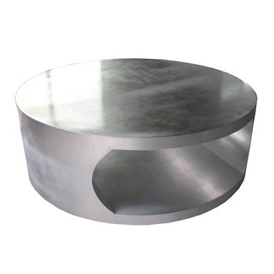 100 Essentials 8001700 Large Round Silver Coffee Table