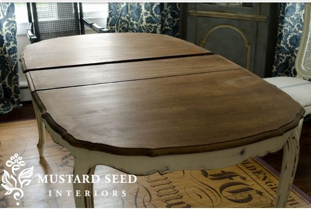 Dining Room Table Refinish Home Decor Pinterest