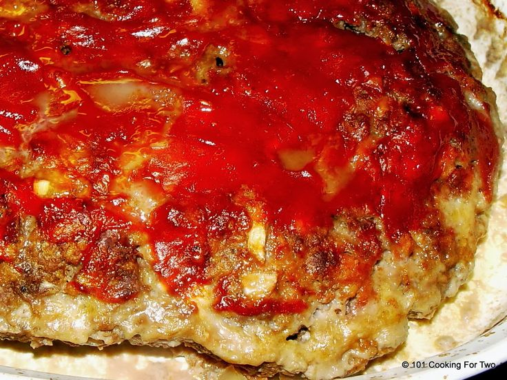 Old Fashion Simple Meatloaf - 101 Cooking For Two