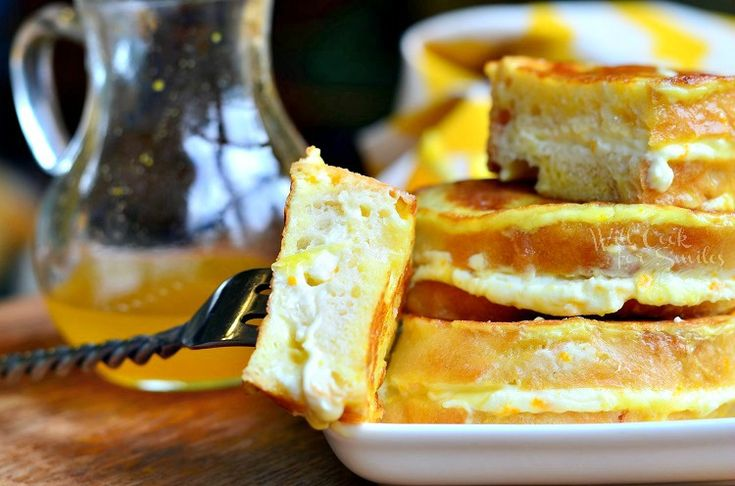 Orange Creamsicle French Toast 4 from willcookforsmiles.com #breakfast ...