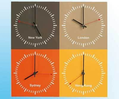 time zone contemporary wall world clock london new york
