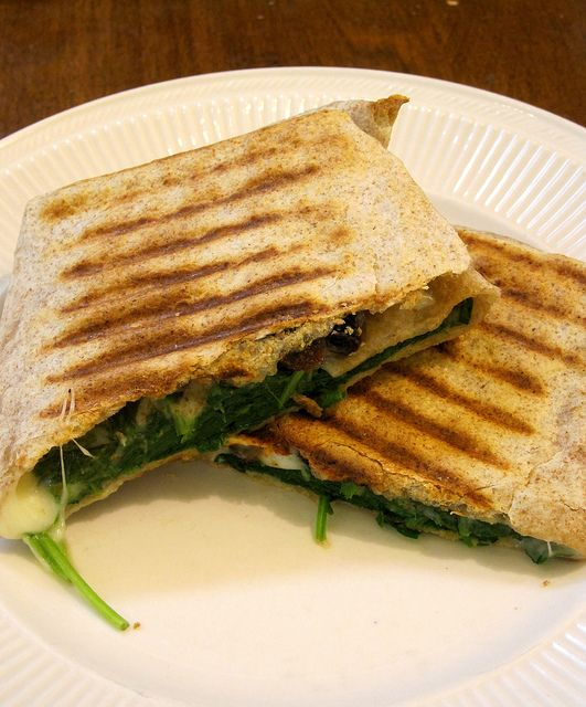 "Spinach ""Pie"" Wrap | recipes | Pinterest"