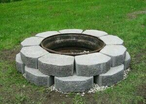 Fab fire pit design u can do yourself pati s plus for Do it yourself fire pit designs