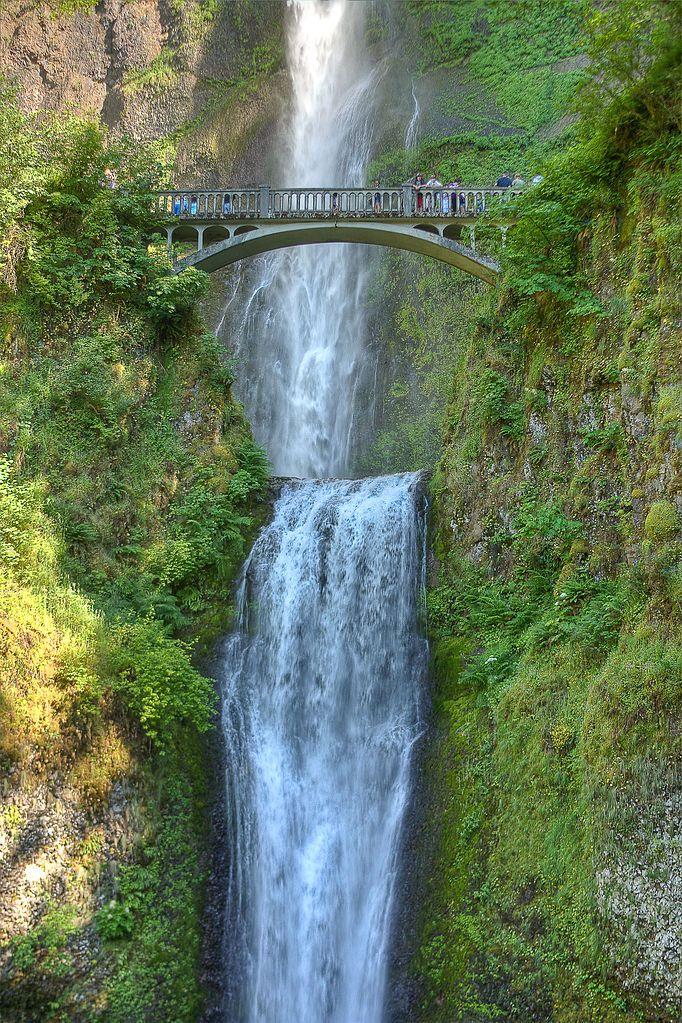 Multnomah Falls Bridal Veil Oregon Shane Pinterest