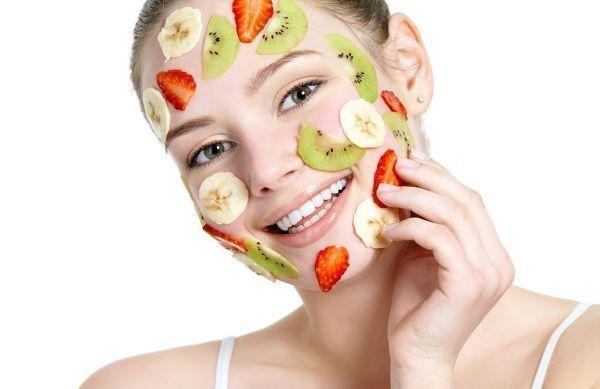 Food facial mask porn pic