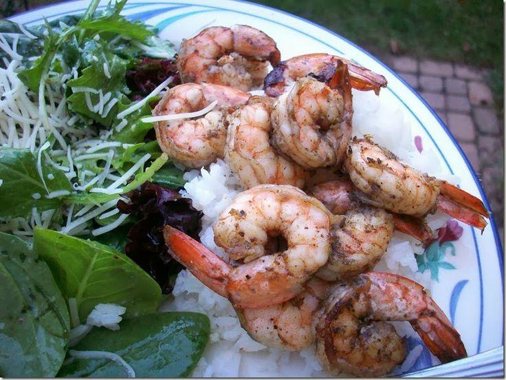 Grilled shrimp scampi | Recipes I use | Pinterest