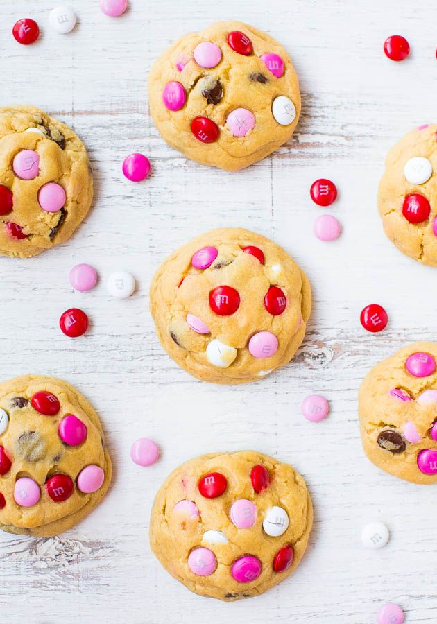 ... cookies ever! People go nuts for these big cookies loaded with M&Ms
