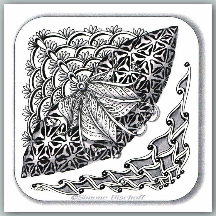 Simonebischoff ot 07032014 zentangle patterns pinterest