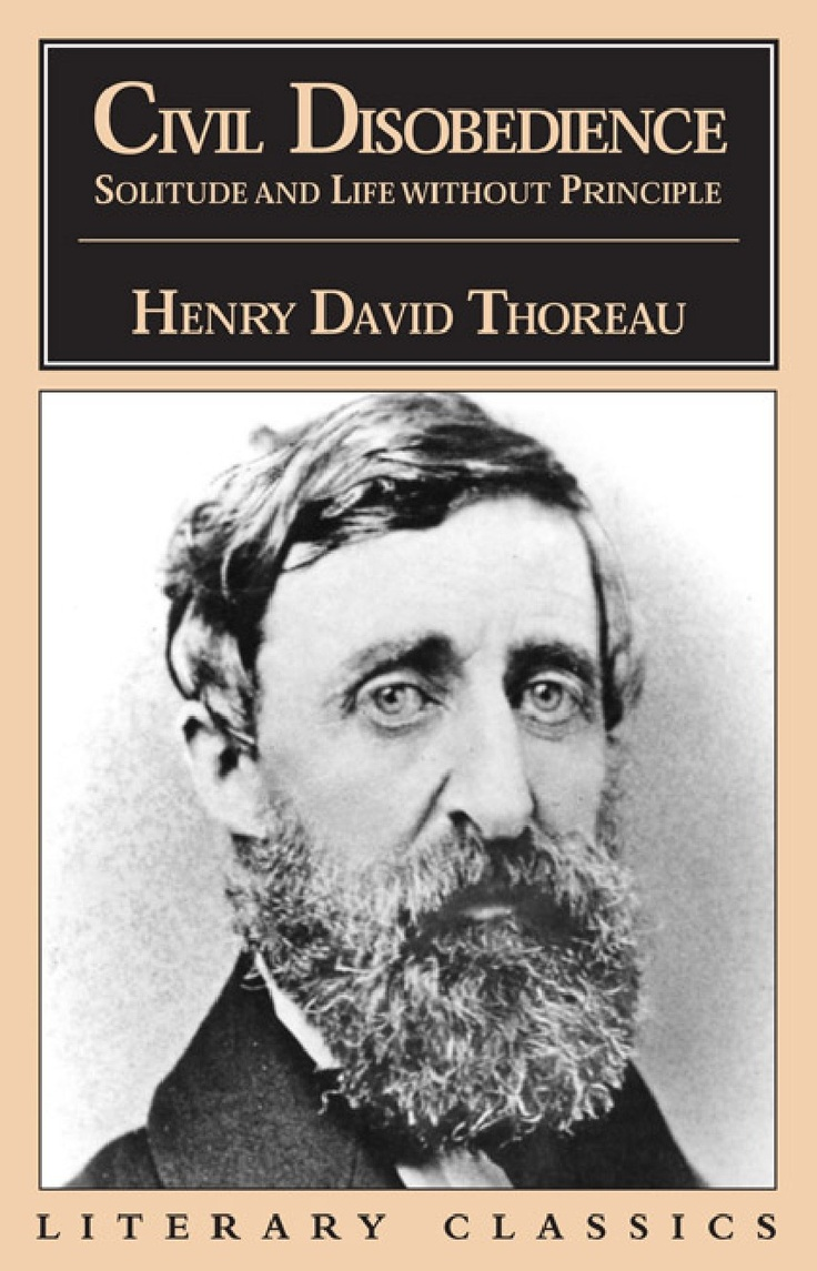 Thoreau duty civil disobedience essay