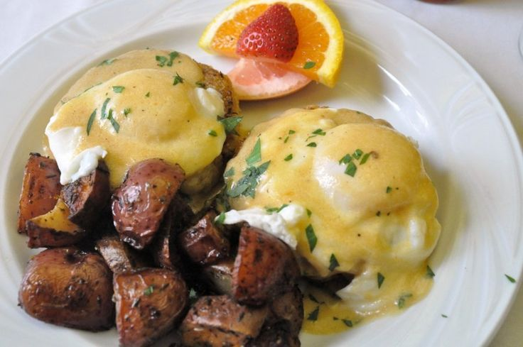 Seafood Eggs Benedict: great recipe from the west coast