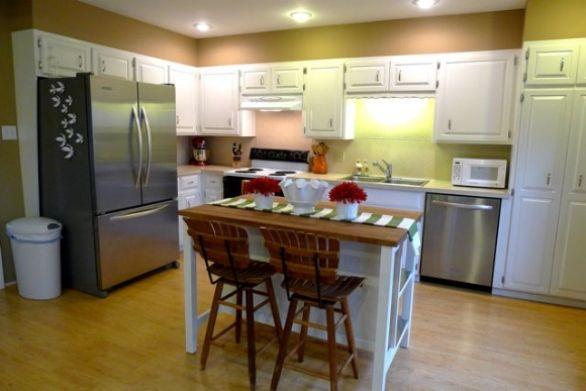 Portable Kitchen Islands With Seating Kombuis Paleis Pinterest