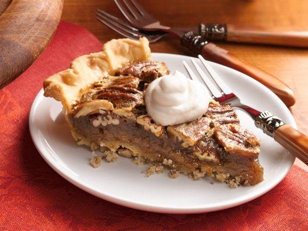 Bourbon Pecan Pie with Pecan Crust   Recipe