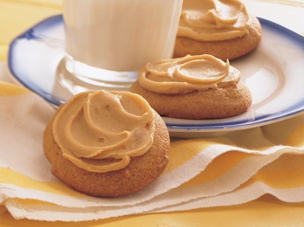 Browned Butter Cookies with Caramel Frosting | Recipe