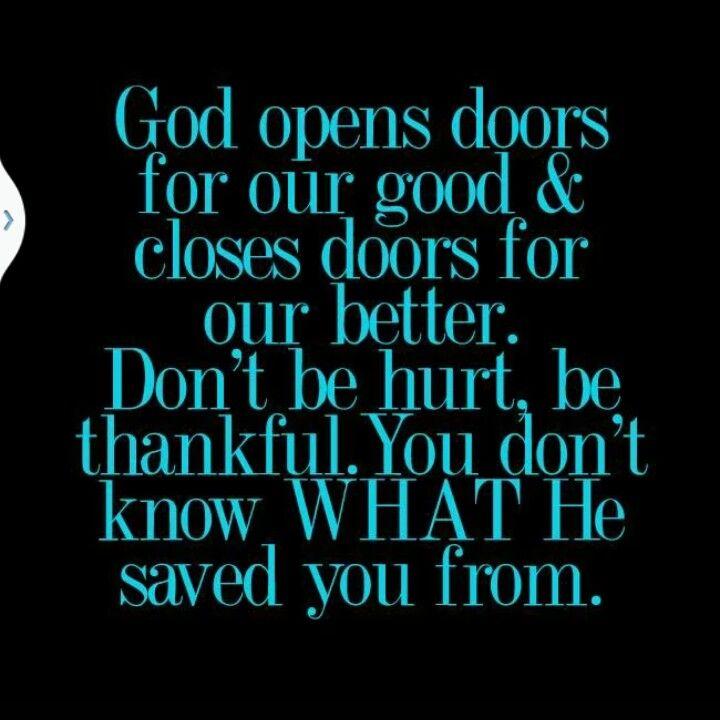 God opens doors inspirational pinterest