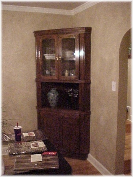 corner hutch for dining room is a must home garden pinterest