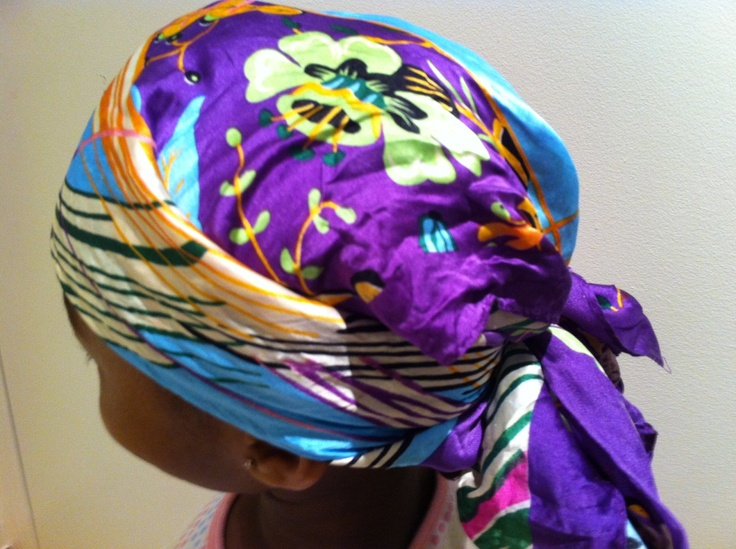 silk scarf for protective sleeping simply braids