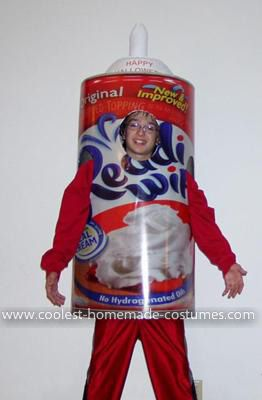 Coolest Cool Whip Costume - Cool Costumes