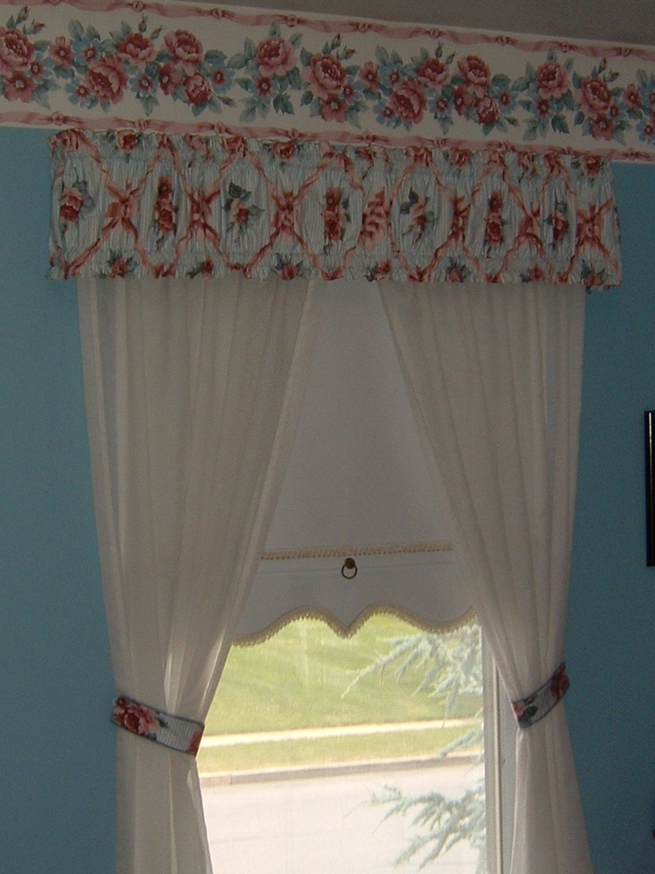 Valances to match my border