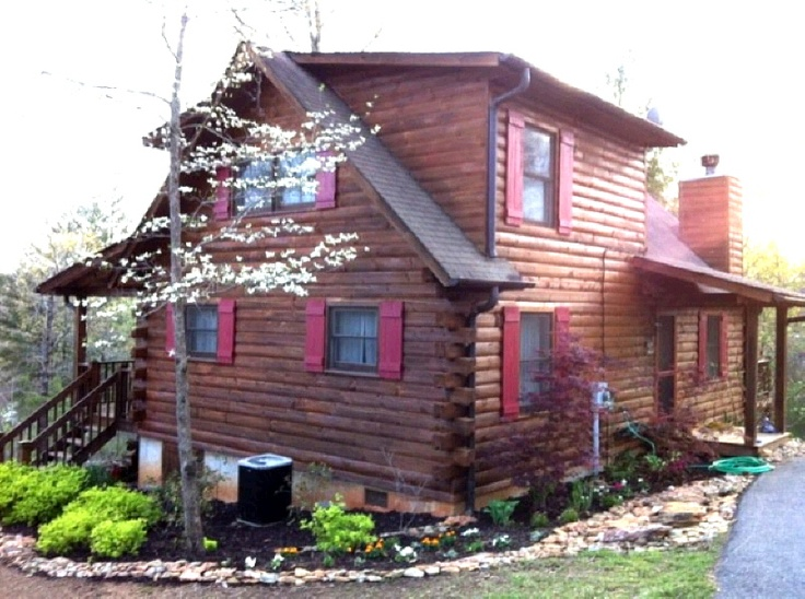 Beautiful Log Home For Sale Real Estate Murphy Nc