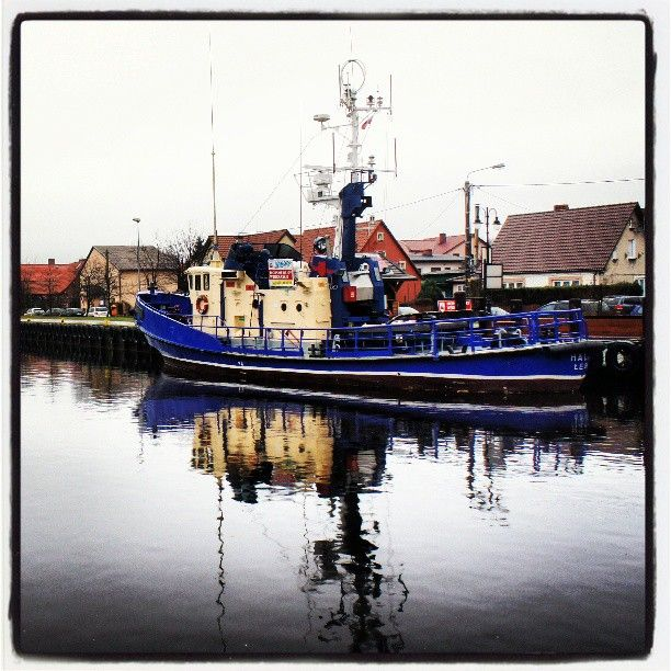 Port rybacki, Łeba, kutry rybackie,