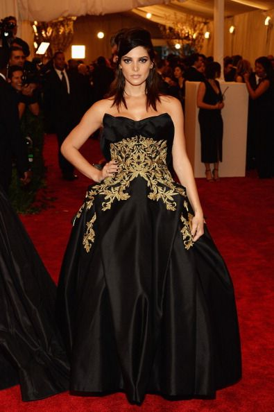 Ashley Greene in Marchesa at the Met Gala 2013
