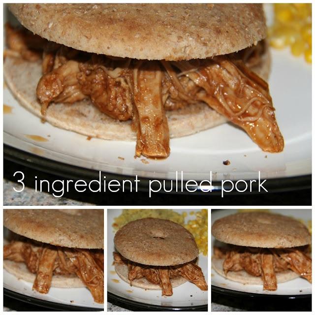 Ingredient Pulled Pork - in love | Favorite Recipes | Pinterest